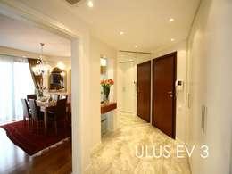 Bozantı Mimarlık – Ulus'ta Ev No.3:  tarz Koridor ve Hol