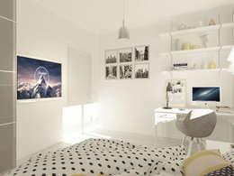 OK Interior Design: modern tarz Yatak Odası