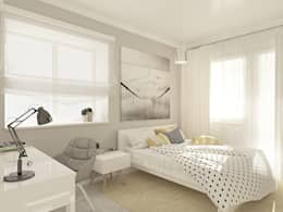 minimalistische Slaapkamer door OK Interior Design