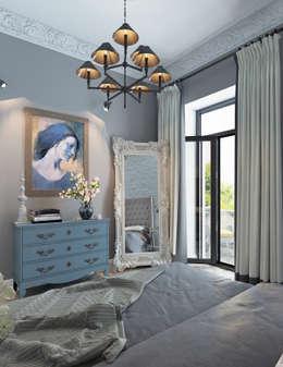 Квартира для большой семьи в сталинке.: Спальни в . Автор – Котова Ольга