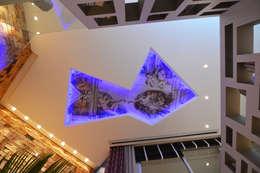 Salas / recibidores de estilo rústico por ANNA MAYA & ANDERSON SCHUSSLER