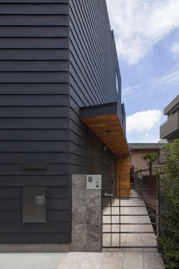 U建築設計室의  일세대용 주택