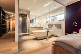 modern Bathroom by Meissl Architects ZT GmbH