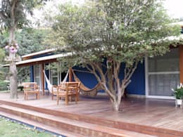 Casas de estilo rústico por Cristiane Locatelli Arquitetos & Associados