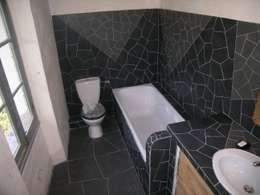 Mozaique: Salle de bain de style de style Moderne par Moz-art mosaique