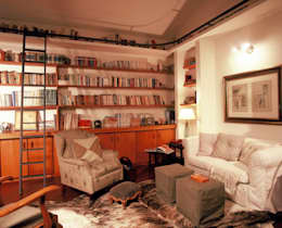 Estudios y despachos de estilo rústico por IDALIA DAUDT Arquitetura e Design de Interiores