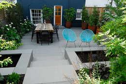 Jardin de style de style Moderne par Josh Ward Garden Design