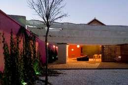 Jardines de estilo minimalista por daniel rojas berzosa. arquitecto