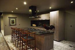Cocinas de estilo minimalista por Con Contenedores S.A. de C.V.