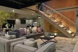 Livings de estilo minimalista por Con Contenedores S.A. de C.V.