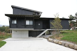 Дома в . Автор – kasahara