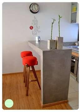 18 mini barras de cocina perfectas para casas chiquitas for Barras de cocina comedor