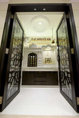 10 pooja room door designs for your home for Pooja room entrance door designs