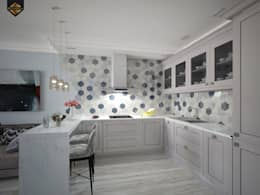 eclectic Kitchen by Decor&Design