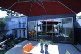 Projekty,  Balkon, weranda i taras zaprojektowane przez Tabary Le Lay