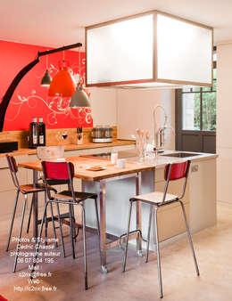 La maison roulante: Cuisine de style de style eclectique par Tabary Le Lay