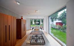 Haus H / Mainz: moderne Küche von Lennart Wiedemuth / Fotografie