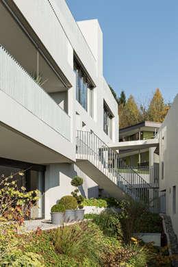 moderne Huizen door a4D Architekten AG