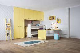 Dormitorios de estilo  por Nidi