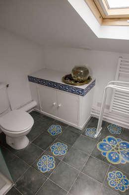 mediterranean Bathroom by Sophie Embs