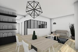 Cocinas de estilo moderno por Dem Design