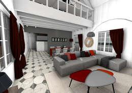 modern Living room by Dem Design