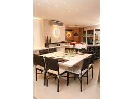 modern Dining room by LX Arquitetura