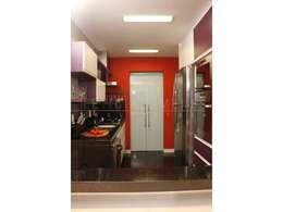 modern Kitchen by LX Arquitetura