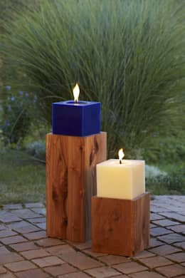 moderne Tuin door Polarlichter-Kerzen