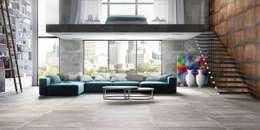 Linha Iron: Sala de estar  por Eliane Revestimentos