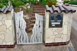 Сады в . Автор – Edelstahl Atelier Crouse - Stainless Steel Atelier