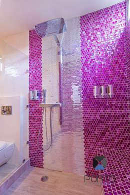 eclectic Bathroom by PORTO Arquitectura + Diseño de Interiores