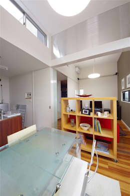 atelier shige architects /アトリエシゲ一級建築士事務所의  다이닝 룸