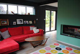 moderne Woonkamer door LA Hally Architect