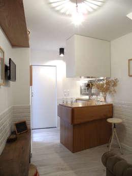 Cocinas de estilo mediterraneo por BL Design Arquitectura e Interiores