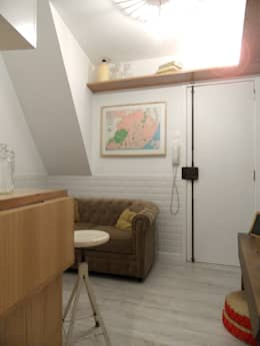 Salas / recibidores de estilo mediterraneo por BL Design Arquitectura e Interiores