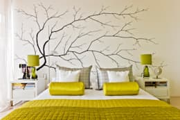 Viterbo Interior design의  침실