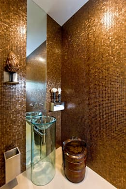eclectic Bathroom by Viterbo Interior design