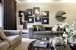 غرفة المعيشة تنفيذ Jorge Cassio Dantas Lda