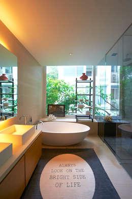 eclectic Bathroom by Viterbo Interior design