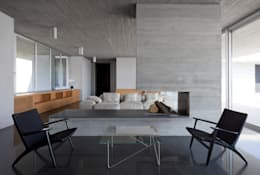 Osa Architettura e Paesaggio: akdeniz tarzı tarz Oturma Odası