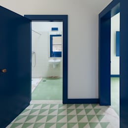 country Bathroom by SAMF Arquitectos