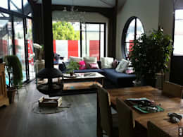 Projekty,  Salon zaprojektowane przez Tabary Le Lay