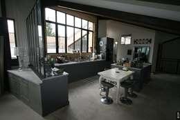 Projekty,  Kuchnia zaprojektowane przez Tabary Le Lay