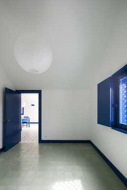 Chambre de style de stile Rural par SAMF Arquitectos