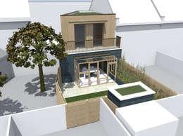 Maisons de style de style Moderne par Satish Jassal Architects