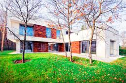 Projekty, skandynawskie Domy zaprojektowane przez rdl arquitectura