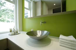 modern Bathroom by Van Hoogevest Architecten
