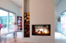 Projekty,  Salon zaprojektowane przez rdl arquitectura