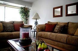 classic Living room by Custom  Media